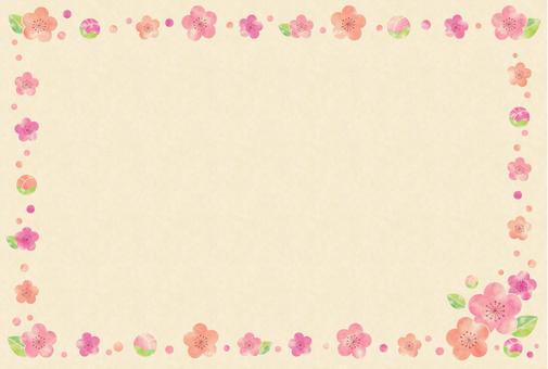 梅カード2(クラフト)