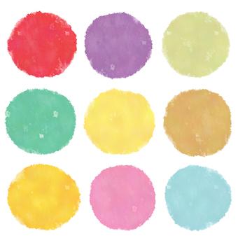 Pop-colored icon