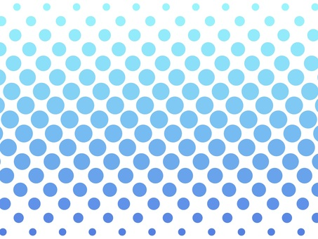 A large number of polka dots with beautiful gradation wallpaper