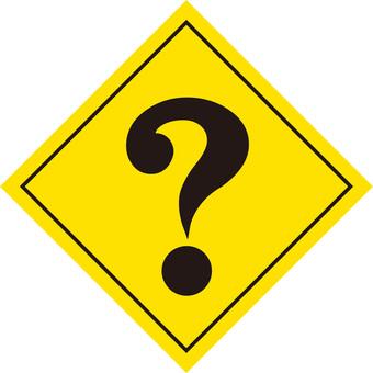 Question, Hatena mark, sign icon