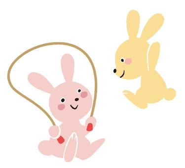 Rabbit jump rope