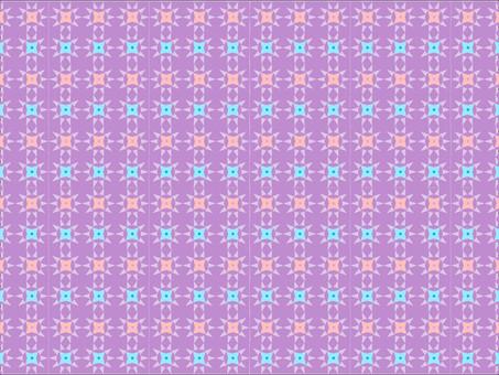 華麗平靜的幾何圖案