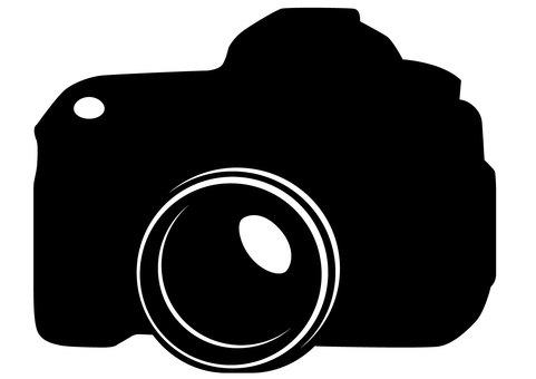 SLR 카메라 아이콘