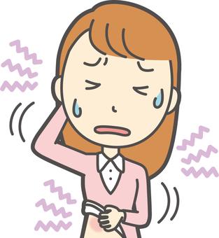 粉色女孩長發-240胸圍