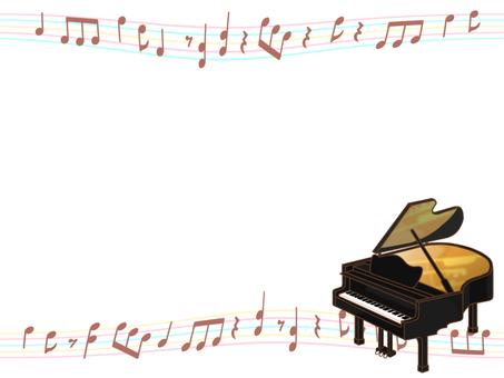 """Grand piano frame """"black"""""""