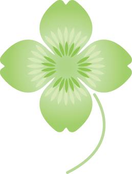 일러스트 무료 클로버 네 잎