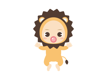B057_Baby Clothes Baby_Lion