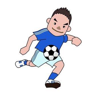 Football shoot