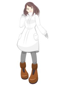 White Coat Girl