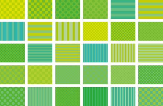 Pattern 01 - Green