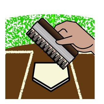 Baseball brush