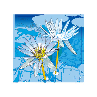 Blue Smoke lotus