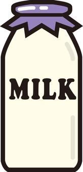 Milk, milk, bottle
