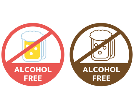 Food allergy label alcohol