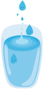 Drop of cup