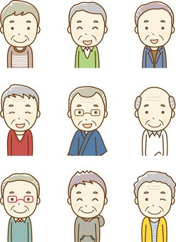 Senior male variations