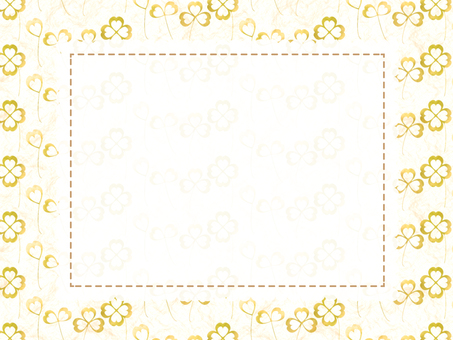 Clover card (Yellow)