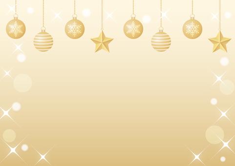 Xmas ornament frame