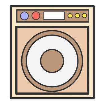 간단한 세탁기