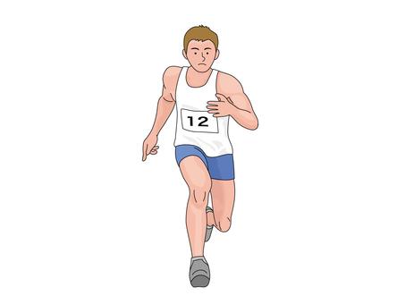 Running short distance players