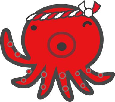 Wink octopus