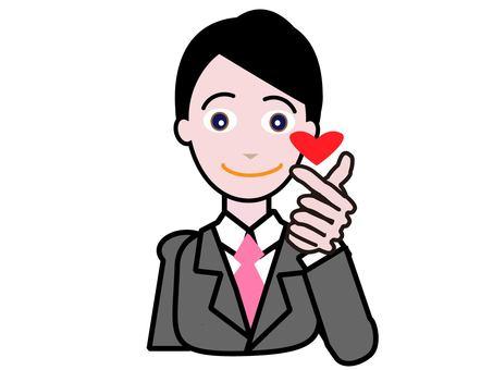 Office worker_love