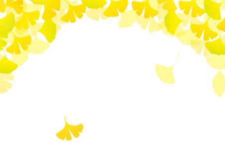 가을 프레임 나비