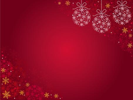 Christmas crystal ball background ♡ No.2
