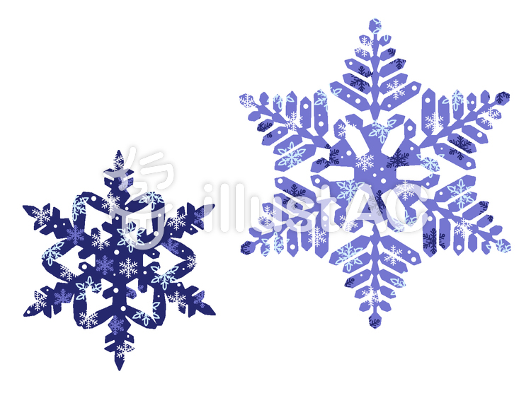 雪の結晶イラスト No 939170無料イラストならイラストac