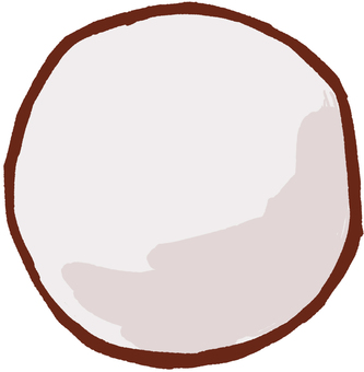 Big ball white to use in athletic meet