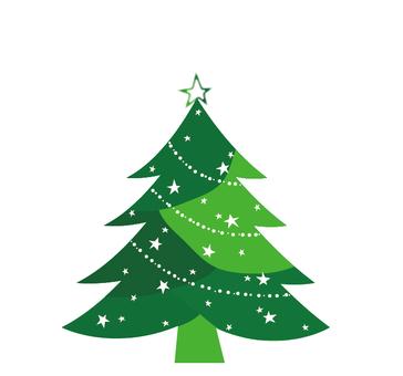 Christmas tree (green)