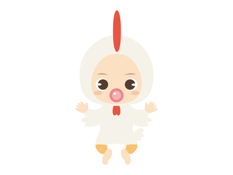 B065_Baby Clothes Baby_Chicken