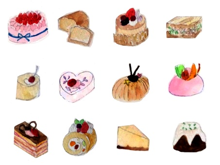 Various cakes · Part 4