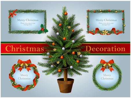Christmas tree & lease frame SET