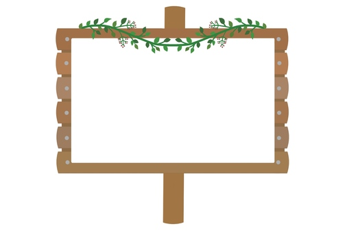 Bulletin board (white)