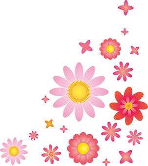 Flower 01 - Corner frame 01