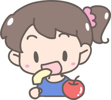 사과를 먹자
