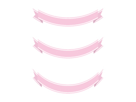 Ribbon 19 wire - pink
