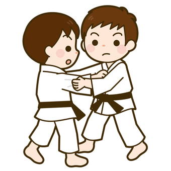 Judo match appearance (boys)
