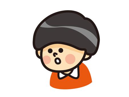 Mushroom head boy