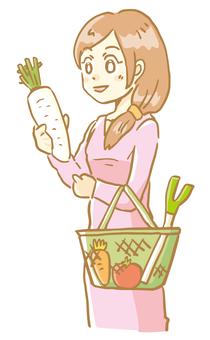 쇼핑 여성