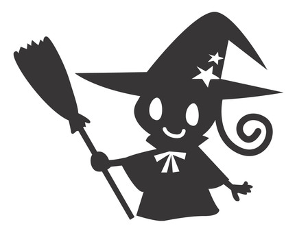 Silhouette Witch