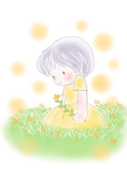 Flowers full of happiness