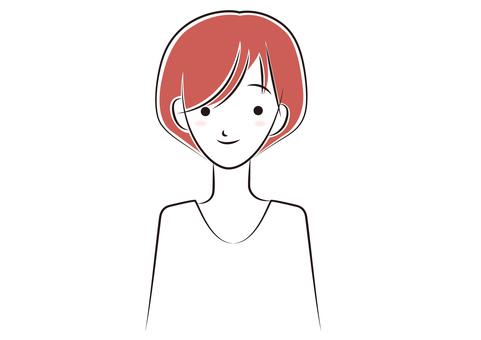 Women _ short hair