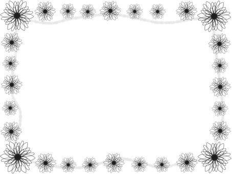 테두리 꽃 무늬