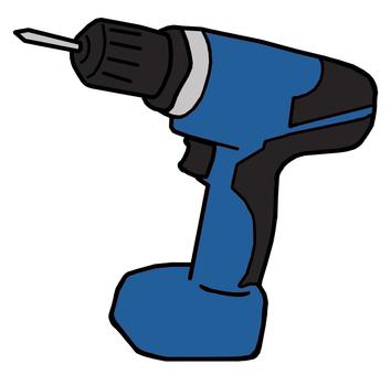 Electric screwdriver (blue)