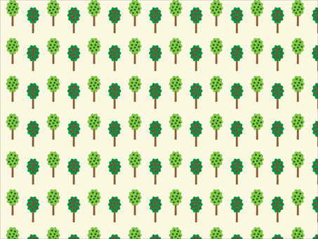 Forest tree pattern material