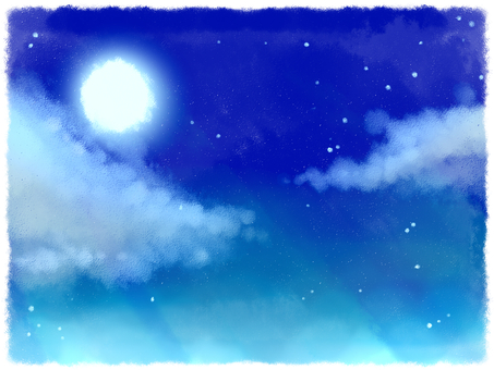 Empty background 1 night sky