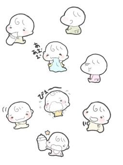 赤ちゃん集