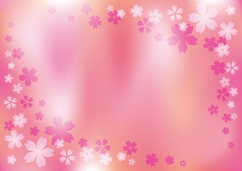 桜の背景 壁紙